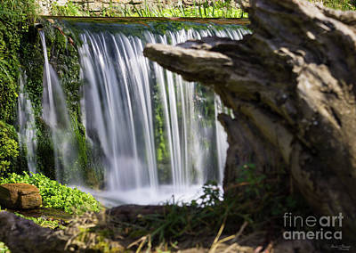 Photograph - Waterfall Focused by Jennifer White
