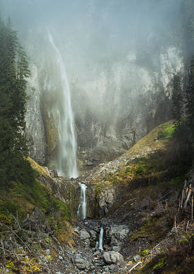 Photograph - Waterfall From Heaven by Angie Vogel