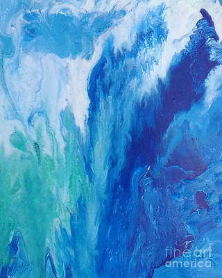 Painting - Waterfall by Giada Rossi