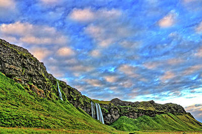 Art Print featuring the photograph Waterfall Hill by Scott Mahon