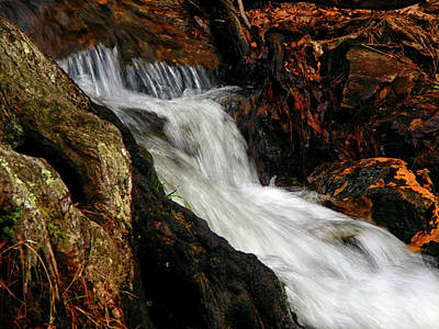 Photograph - Waterfall In Caledonia State Park 2 by Raymond Salani III