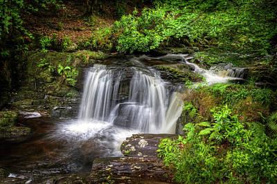 Photograph - Waterfall In Ireland by Debra and Dave Vanderlaan