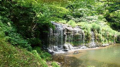 Photograph - Waterfall In Oyabe2 by Shunsuke Kanamori