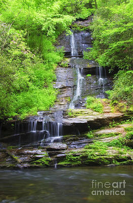 Photograph - Waterfall In Springtime by Jill Lang