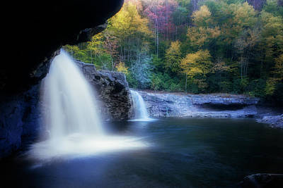 Photograph - Waterfall In The Fall by Dan Friend