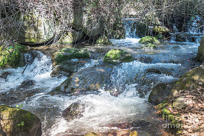 Photograph - Waterfall In The Mountains From Andalusia  by Compuinfoto