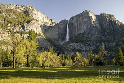 Photograph - Waterfall In The Yosemite Valley by Inga Spence