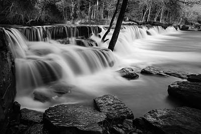 Photograph - Waterfall by James Barber