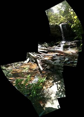 Photograph - Waterfall by John Gibbs