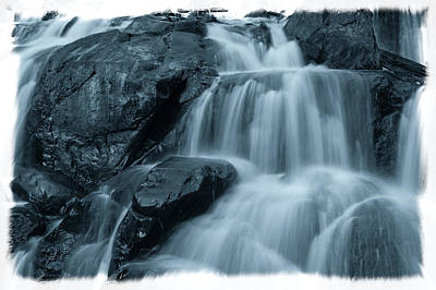 Photograph - Waterfall by Jonathan Nguyen