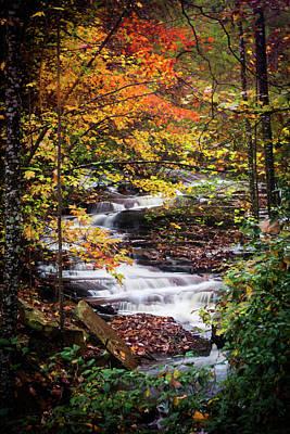 Photograph - Waterfall Kaleidoscope  by Parker Cunningham