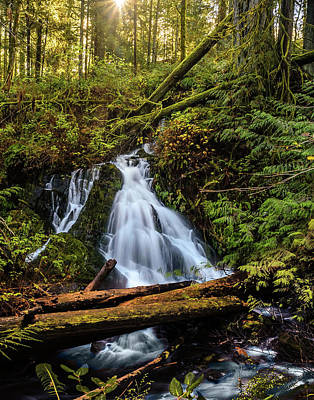 Photograph - Waterfall by Keith Boone