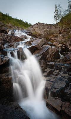 Forest Photograph - Waterfall by Konstantin Dikovsky