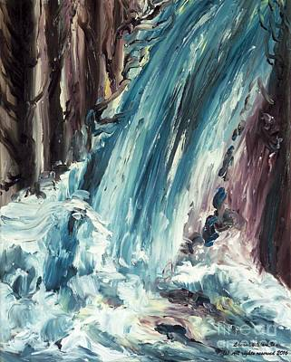 Painting - Waterfall by Laara WilliamSen