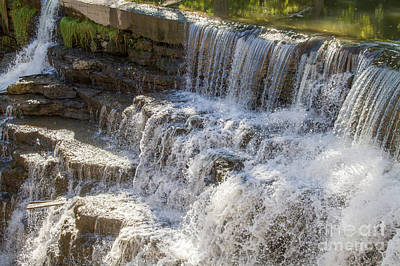 Photograph - Waterfall Ledges by William Norton
