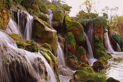 Photograph - Waterfall  by Lennie Malvone