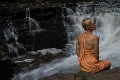 Waterfall Muse Art Print by Tim Beebe