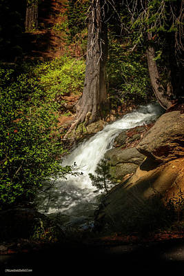 Photograph - Waterfall Near Echo Lake by LeeAnn McLaneGoetz McLaneGoetzStudioLLCcom