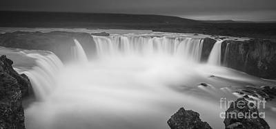 Photograph - Waterfall Of The Gods Iceland by Gunnar Orn Arnason