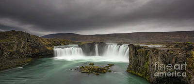 Photograph - Waterfall Of The Gods Panorama  by Michael Ver Sprill