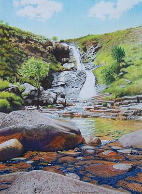 Waterfall On Skye 2 Art Print
