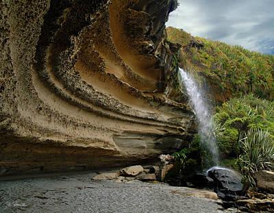 Photograph - Waterfall On Truman Track by Joe Bonita
