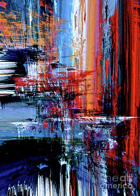 Digital Art - Waterfall by Rafael Salazar