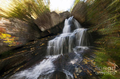 Photograph - Maine Waterfall by Glenn Gordon