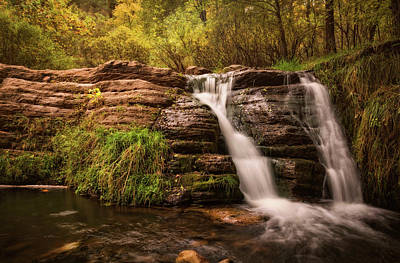 Photograph - Waterfall  by Saija Lehtonen