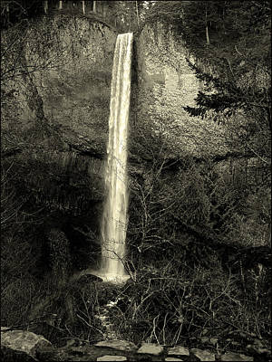 Photograph - Waterfall by Sara Stevenson