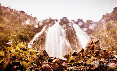 Photograph - Waterfall Scenics  by Jorgo Photography - Wall Art Gallery