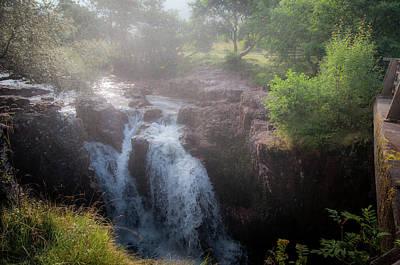 Photograph - Waterfall by Sergey Simanovsky