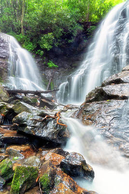 Photograph - Waterfall Silence by Russell Pugh