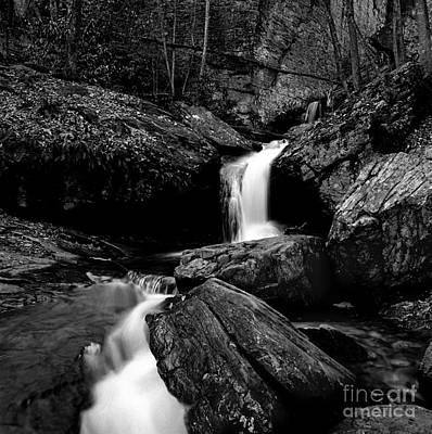 Waterfall-smokey Mountain National Park Original by Arni Katz