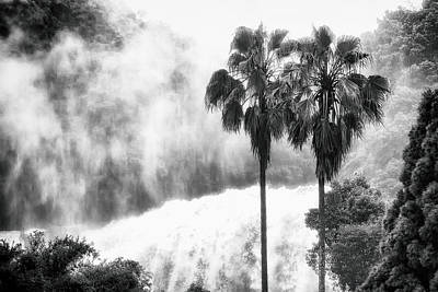 Art Print featuring the photograph Waterfall Sounds by Hayato Matsumoto