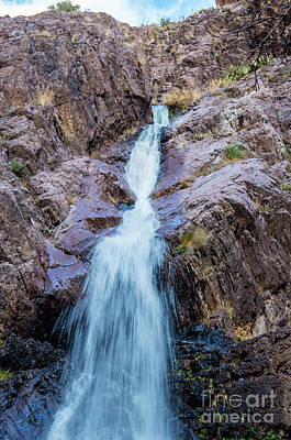 Photograph - Waterfall by Steve Whalen