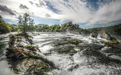 Digital Art - Waterfall by Super Lovely