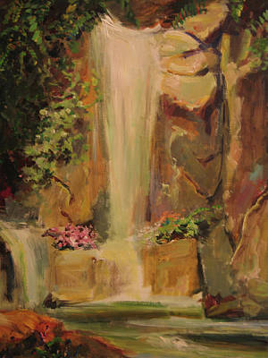 Painting - Waterfall by Tigran Ghulyan