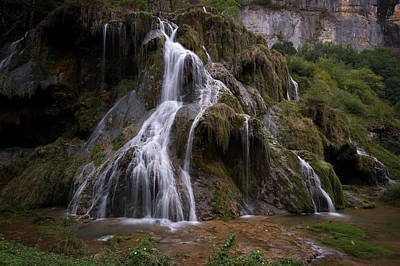 Photograph - Waterfall by Wim Slootweg