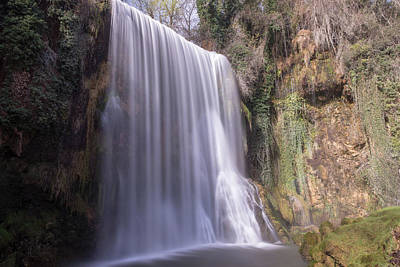 Photograph - Waterfall With The Silk Effect by Vicen Photography