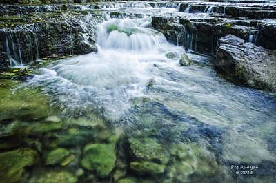 Photograph - Waterfall Wonderland by Peg Runyan