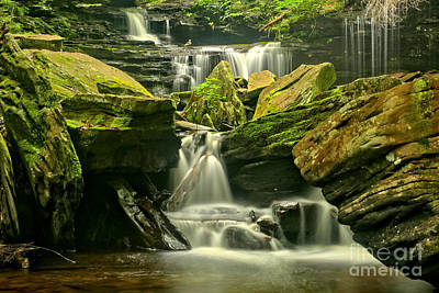 Photograph - Waterfalling Everywhere by Adam Jewell