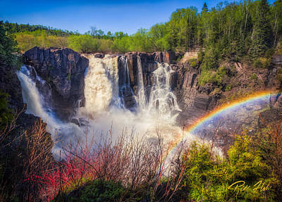 Photograph - Waterfalls And Rainbows by Rikk Flohr