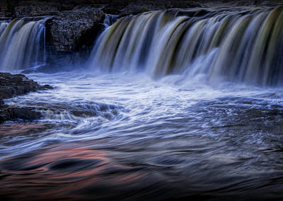 Photograph - Waterfalls At Dusk by Randall Nyhof