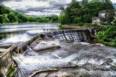 Waterfalls Cornell University Ithaca New York 07 Art Print by Thomas Woolworth