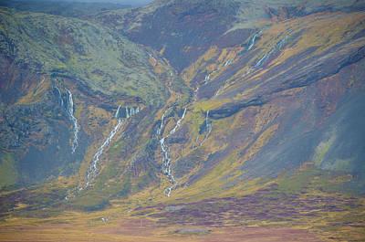 Photograph - Waterfalls Galore Western Iceland by Deborah Smolinske