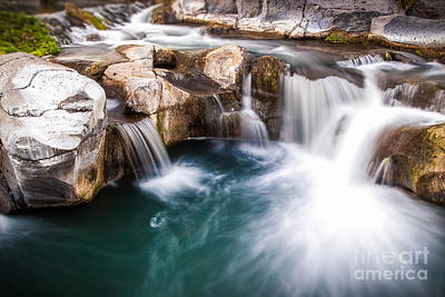 Sicily Photograph - Waterfalls by Giuseppe Torre