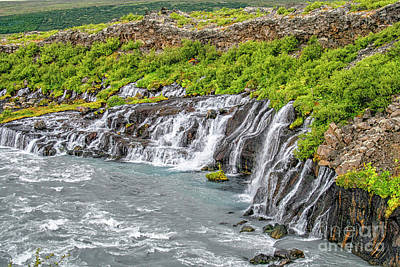 Photograph - Waterfalls In Iceland by Patricia Hofmeester
