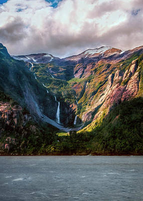 Photograph - Waterfalls by Maria Coulson