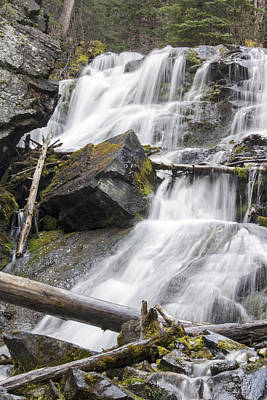 Photograph - Waterfalls Of Lost Creek by Dana Moyer